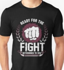 Ready For Fight against Throat Cancer Unisex T-Shirt
