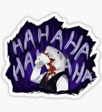 Principal Nezu Laughing Sticker