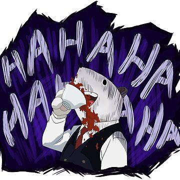 Principal Nezu Laughing by Kapitan515