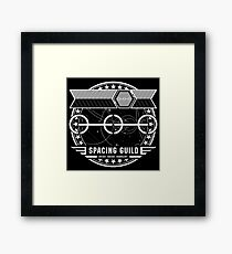 The Spacing Guild - Inspired by Dune Framed Print