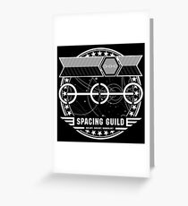The Spacing Guild - Inspired by Dune Greeting Card