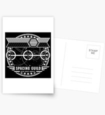 The Spacing Guild - Inspired by Dune Postcards