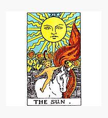 Sun Tarot Photographic Print