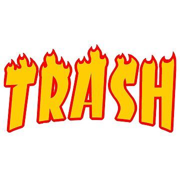 TRASH (thrasher) by HuHz
