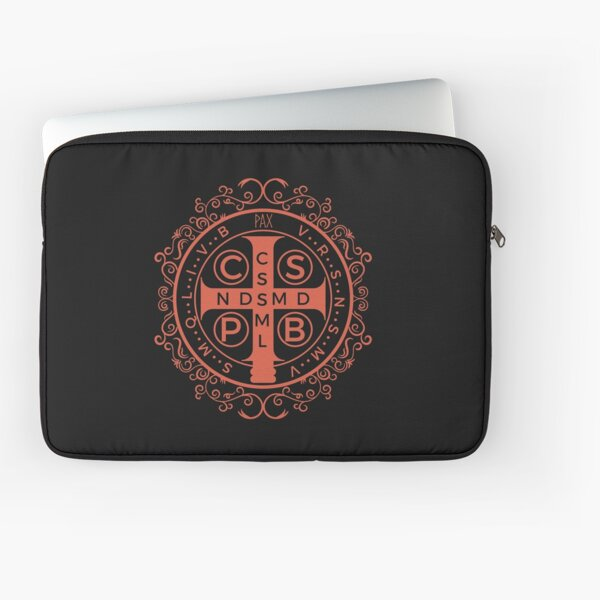 The Medal of Saint Benedict Laptop Sleeve