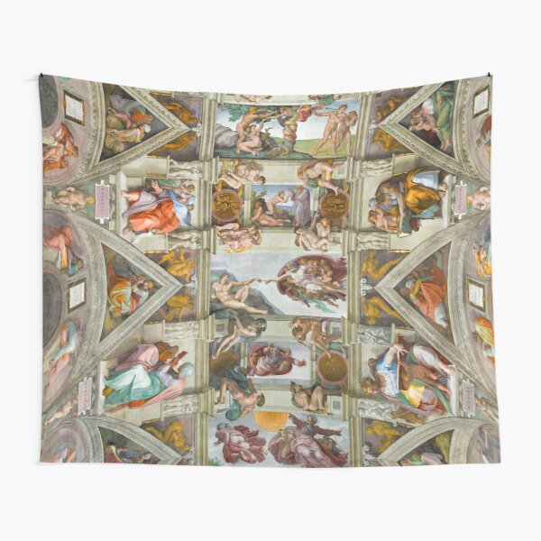 Michelangelo - The Sistine Chapel  Tapestry