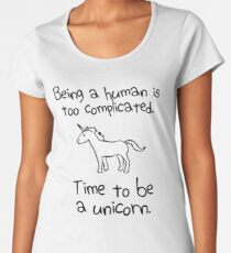 Time To Be A Unicorn Women's Premium T-Shirt