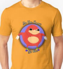 Do You Know The Way -  Ugandan Knuckles Unisex T-Shirt