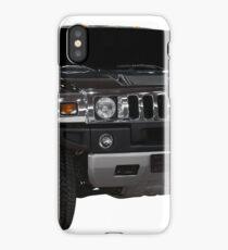 Big luxury 4x4 suv isolated on white iPhone Case/Skin