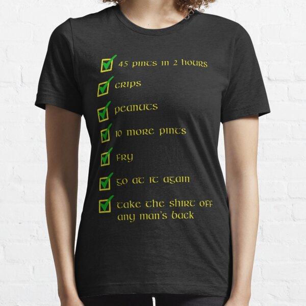 Paddy Losty Pintman Checklist Essential T-Shirt