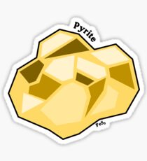 Pyrite Sticker