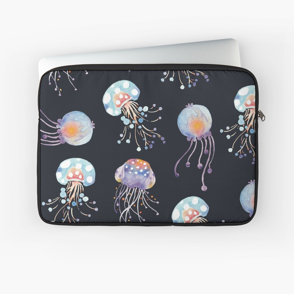 Patters Everyday | What's in the deep sea Laptop Sleeve Front