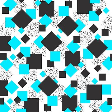 Square Blues Shapes by DinoCreations