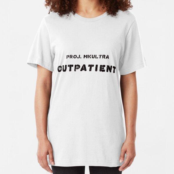 MKULTRA Project Outpatient T-Shirt Slim Fit T-Shirt