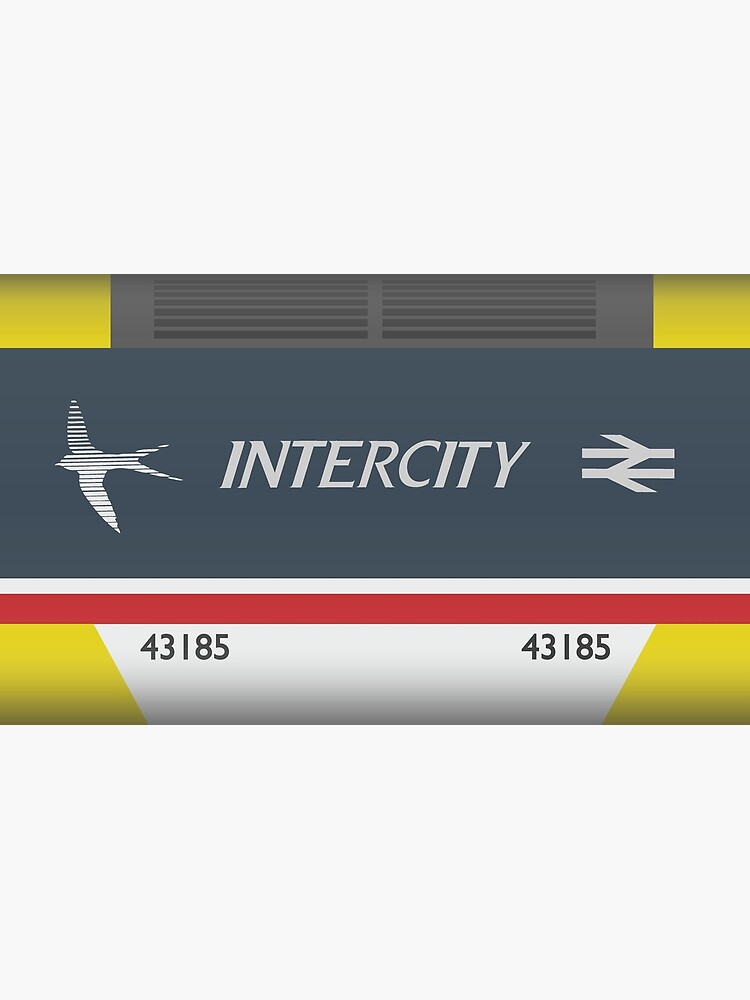 intercity 125 swallow livery mug by ictcolour redbubble redbubble