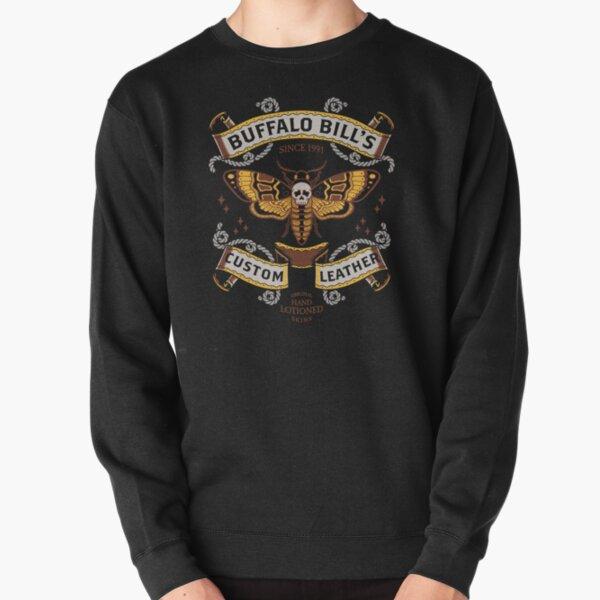 Buffalo Bill's Custom Leather Pullover Sweatshirt