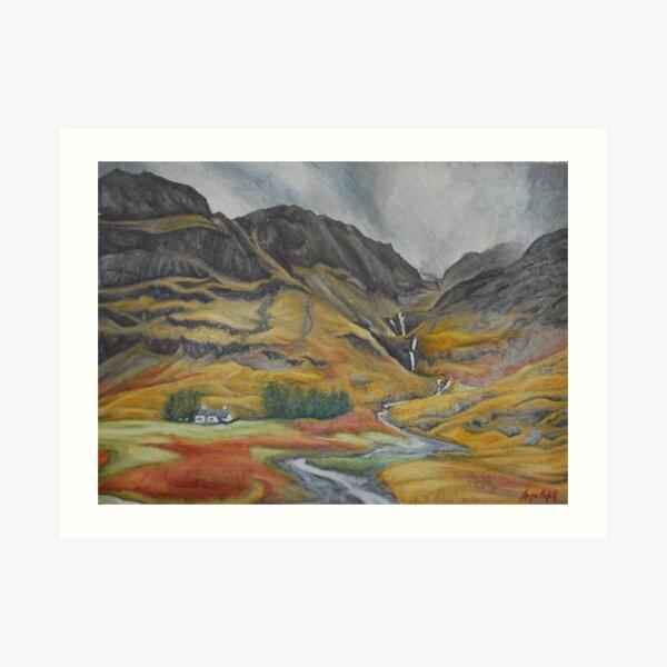Dreach Scottish Landscapes 2 Art Print