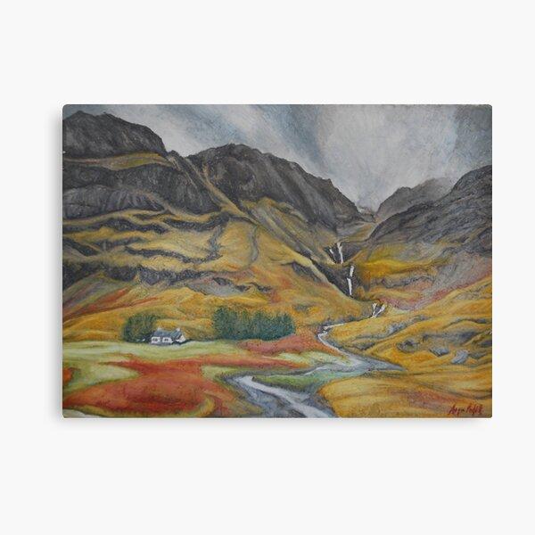 Dreach Scottish Landscapes 2 Canvas Print