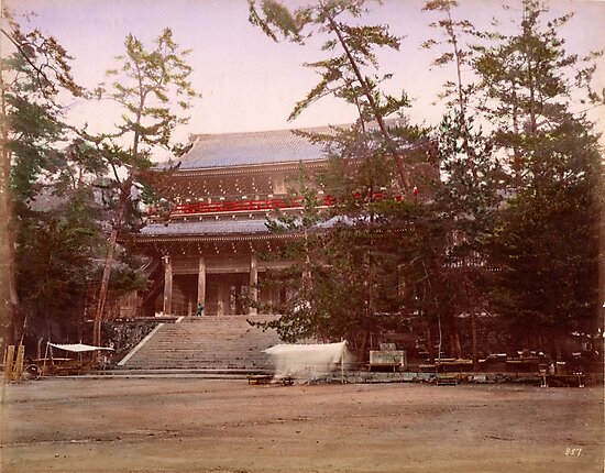 Chion In, Temple, Kyoto, Japan by Fletchsan