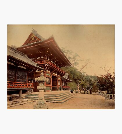 Temple at Kamakura, Japan Photographic Print