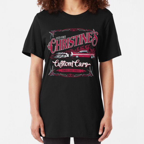 Christine's Custom Cars Slim Fit T-Shirt