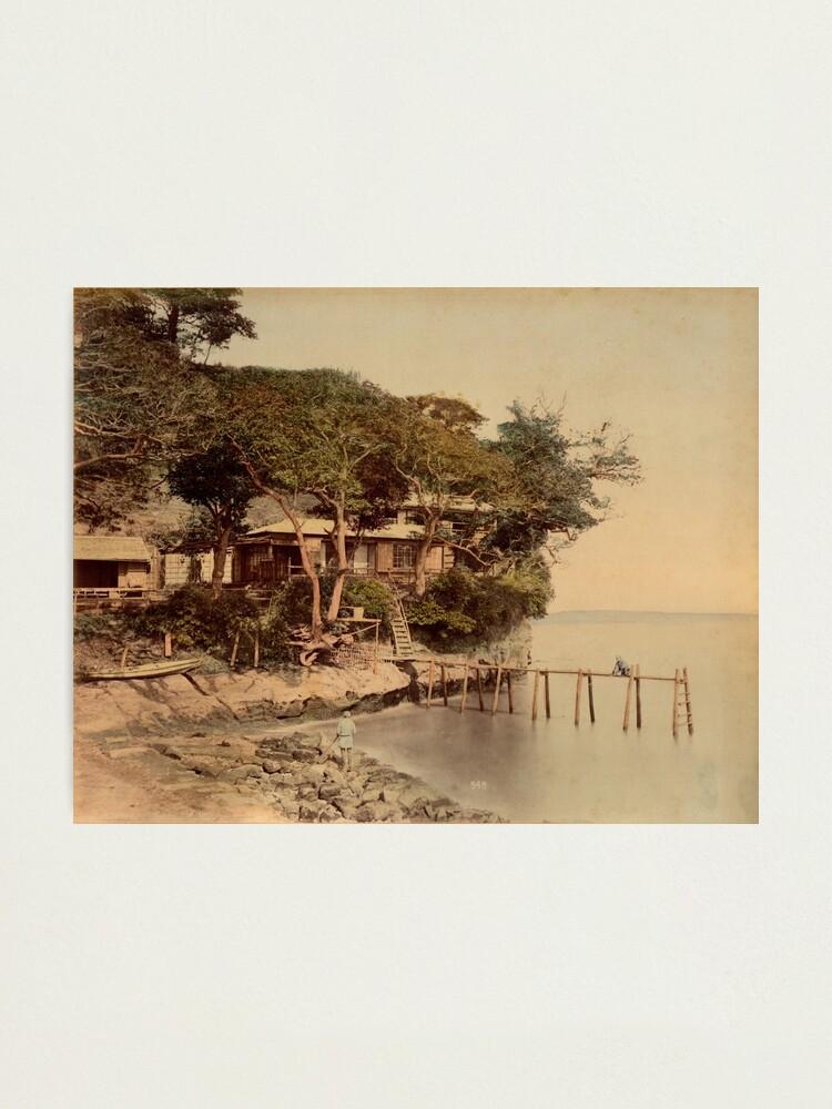 Alternate view of Honmoku bathing place, Japan Photographic Print