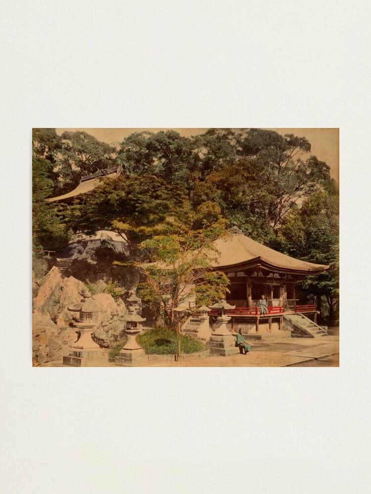 Alternate view of Ishiyama Dera, Buddhist temple, Japan Photographic Print