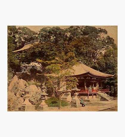 Ishiyama Dera, Buddhist temple, Japan Photographic Print