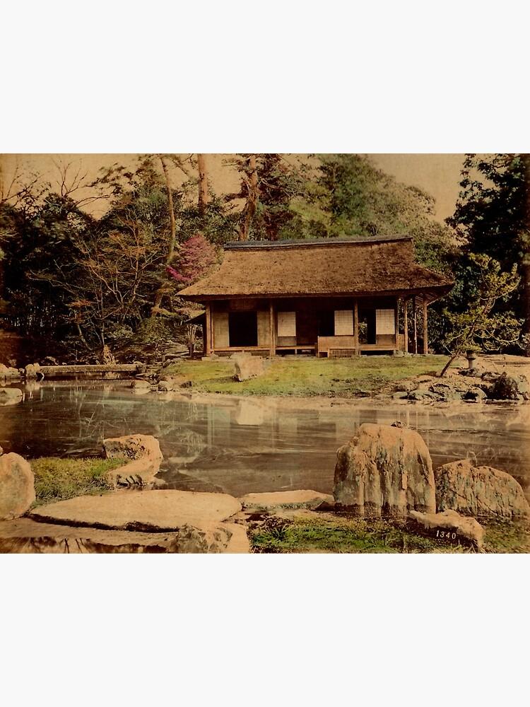 Mikado's garden, Kyoto, Japan by Fletchsan