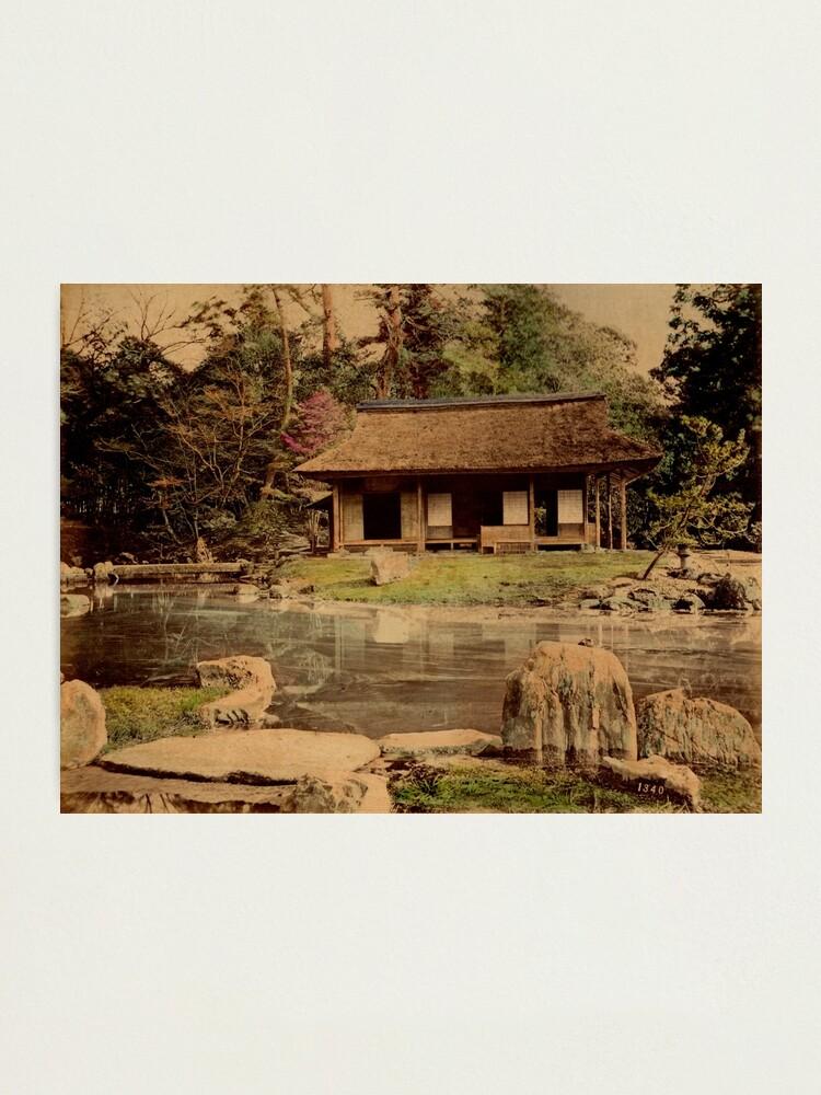 Alternate view of Mikado's garden, Kyoto, Japan Photographic Print