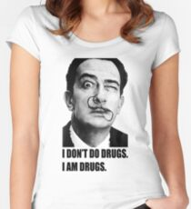 Salvador Dalí Women's Fitted Scoop T-Shirt