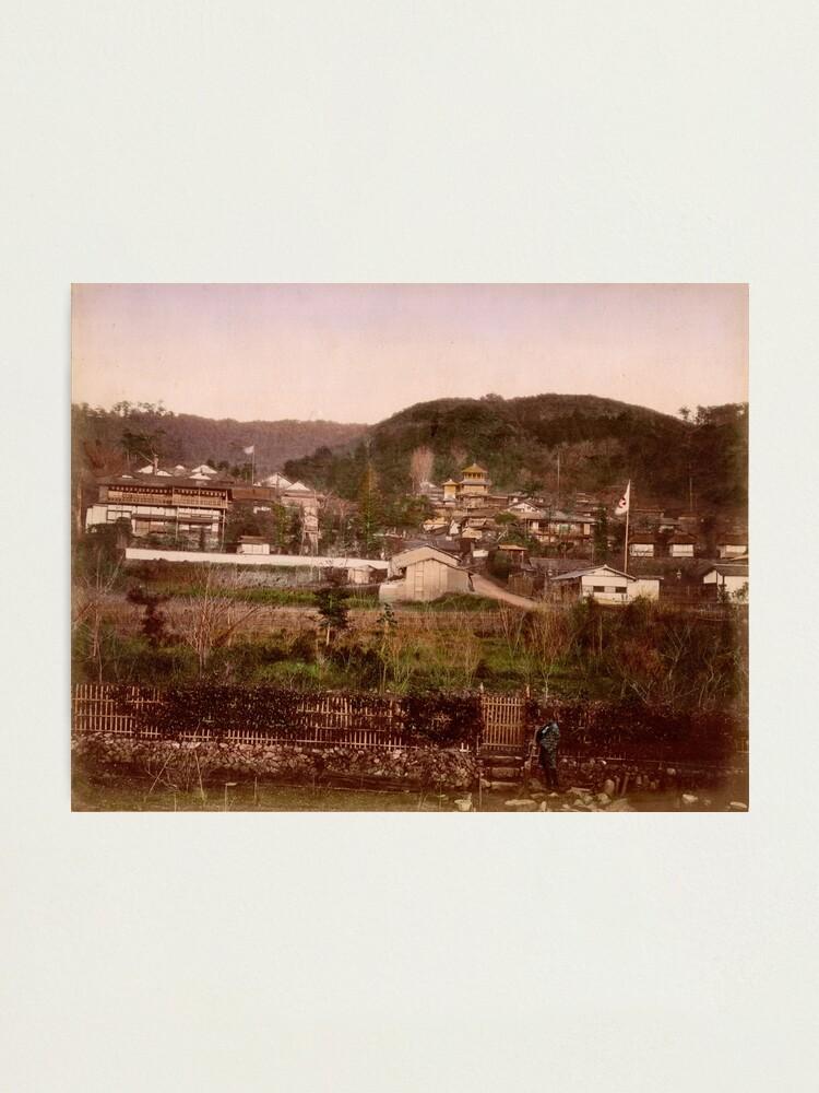 Alternate view of View of Maruyama, Kyoto Photographic Print
