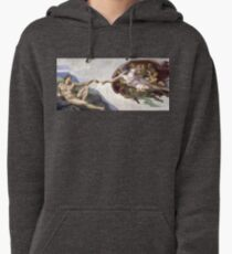 The Creation of Adam - Michelangelo  Pullover Hoodie