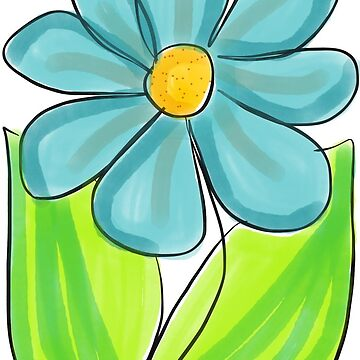 Blue Flower by Plotter4you