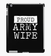 Proud Army Wife iPad Case/Skin