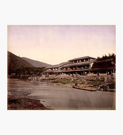 Arashiyama & Tea House, Kyoto Photographic Print