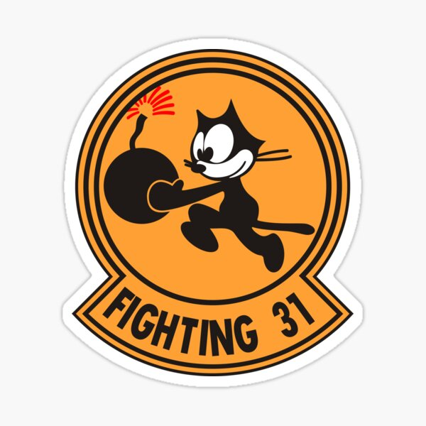 Tomcat VF-31 Tomcatters Sticker