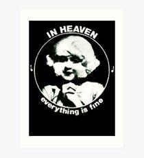 In heaven (Circle) Art Print