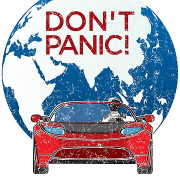 Don't Panic! - a tribute to Elon Musk, Spaceman and the Red Roadster. Mars is near! by kolbasound