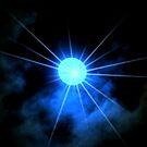 Blue winter moon by Cricket Jones