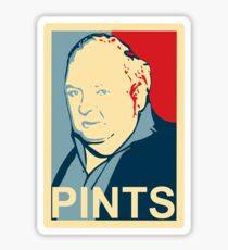 Paddy Losty - Pints - Pintman - Obama Parody Sticker