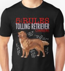 5 Rules for Retriever Owners Unisex T-Shirt