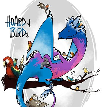 Hoard of birds by ArryDesign