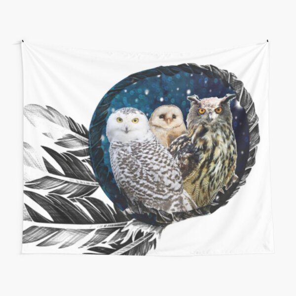 Owls Dream Tapestry