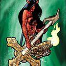 Flamethrower Guitar 004 - censored by Ian Sokoliwski