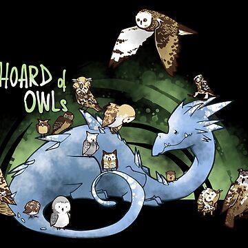 Hoard of owls by ArryDesign