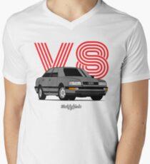 V8 (gray) Men's V-Neck T-Shirt