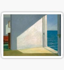 Rooms by the Sea, Edward Hopper Sticker