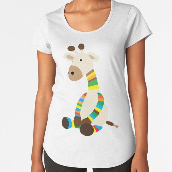 Giraffe Premium Scoop T-Shirt