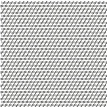 3D Cube pattern grey by Graphic-T